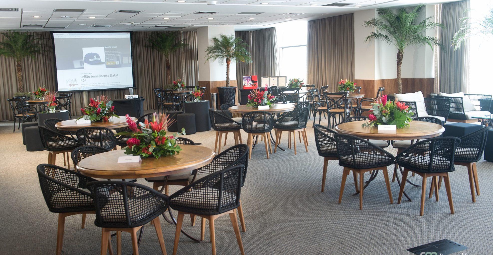 Coorporativo - Hotel Windsor Barra - Georgia Festas