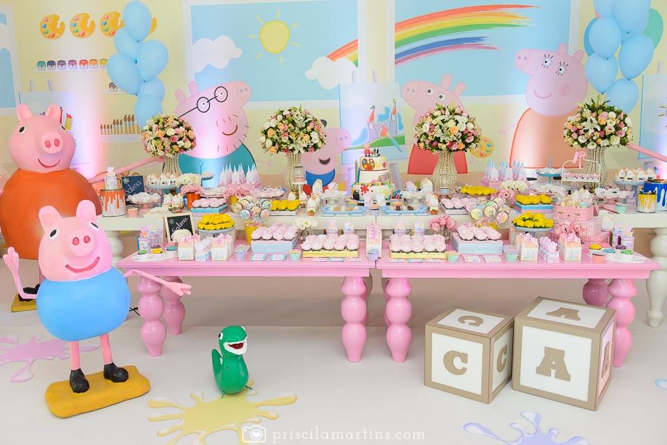 cupcake festa peppa pig